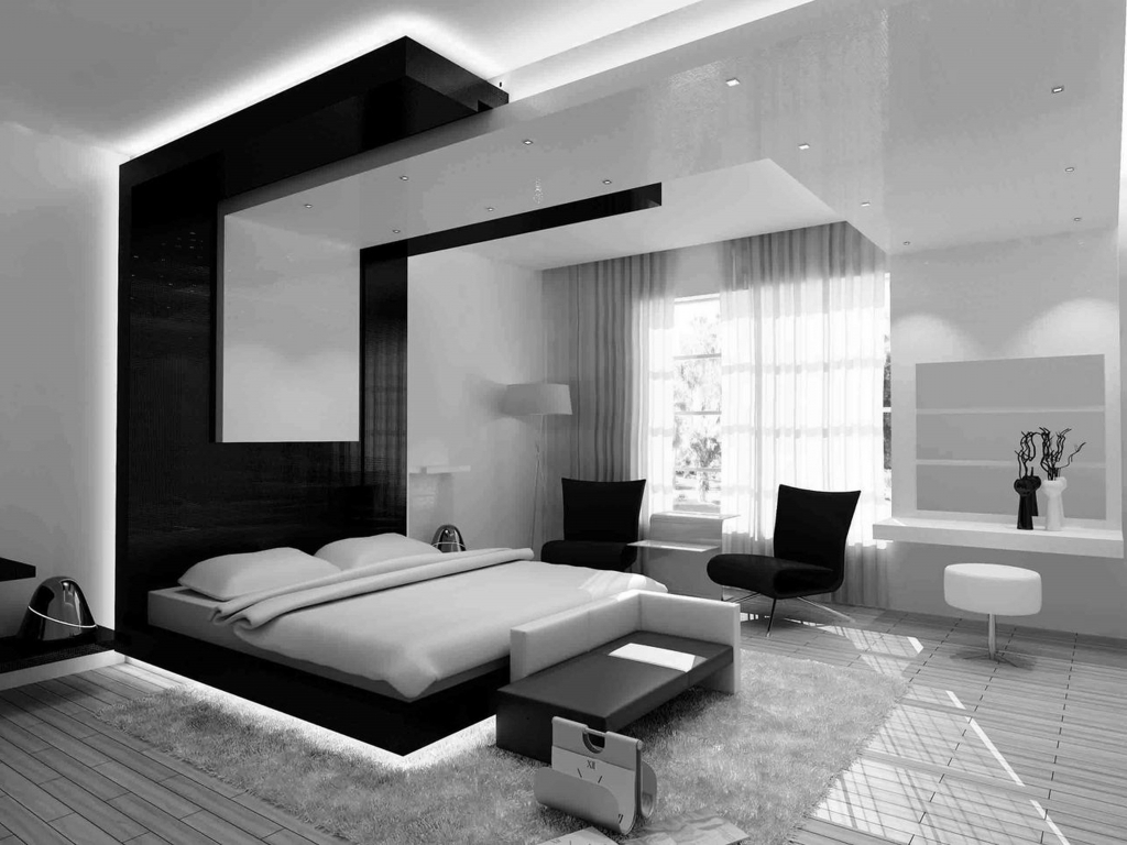 Black And White Modern Bedroom Ideas Bedroom Design Decorating Ideas throughout 11 Genius Designs of How to Build White Modern Bedroom