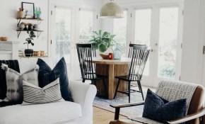 Boho Living Room Modern Farmhouse Dining Room Round Dining within 11 Clever Designs of How to Craft Living And Dining Room Sets