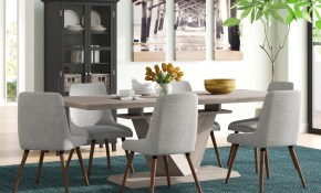 Brayden Studio Simmers 7 Piece Dining Set Wayfair in 7 Piece Living Room Set