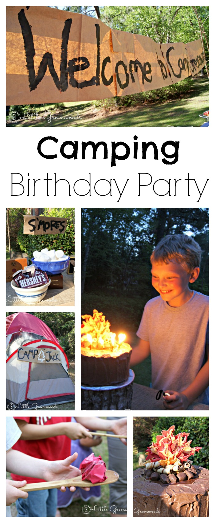 Camping Birthday Party Fun for Backyard Camping Ideas For Adults