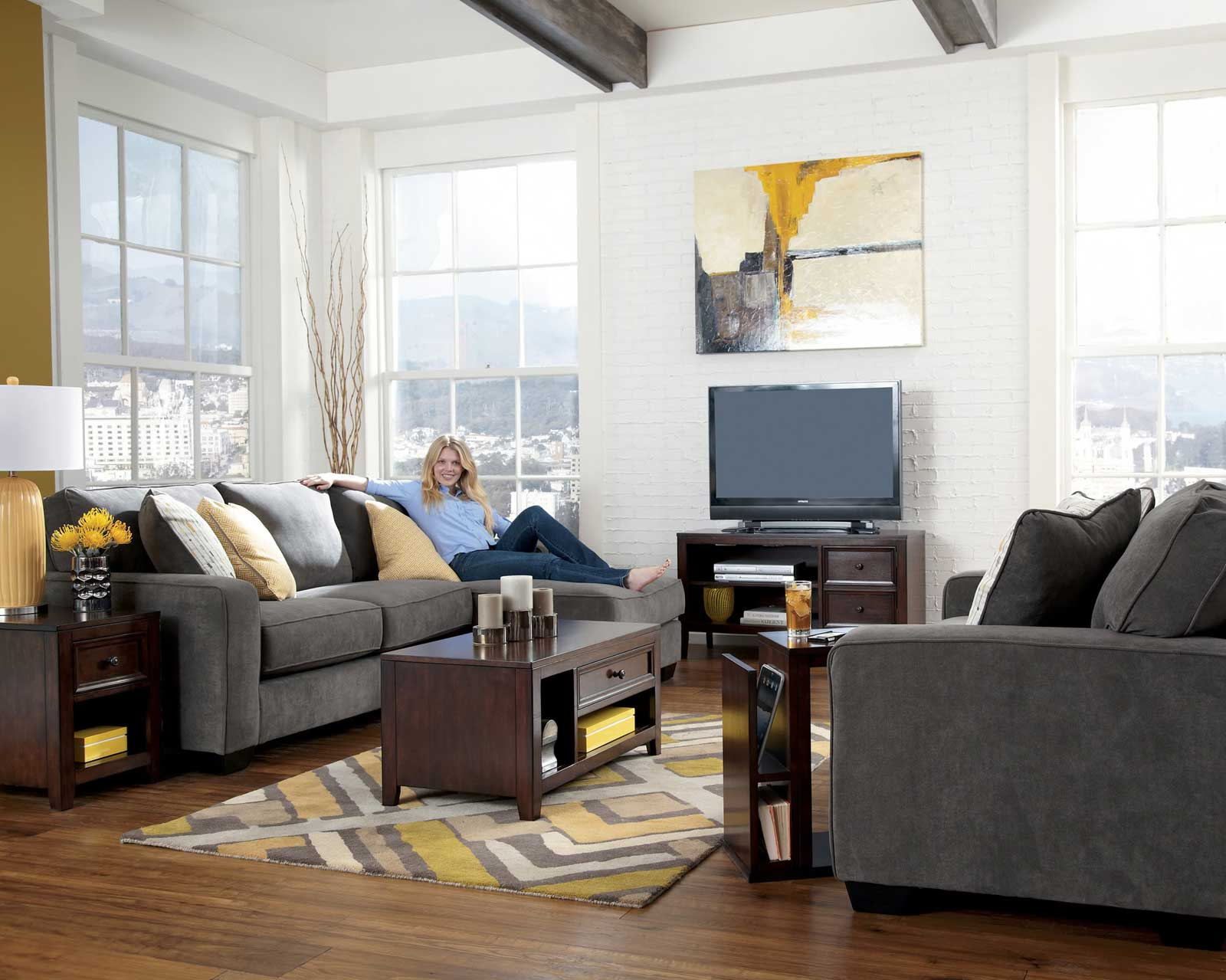 Charming Living Room Sets Furniture For Small Home Design Ideas within 14 Genius Ideas How to Improve Living Room Set With TV