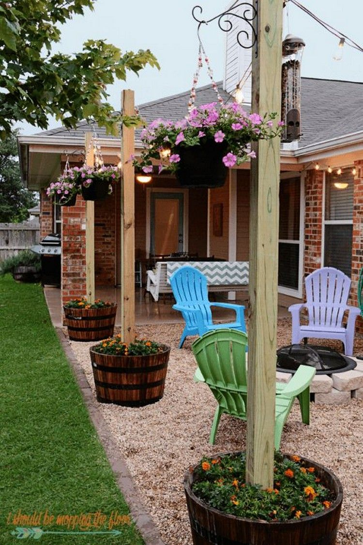Cheap And Easy Diy Home Decor Projects In 2019 Get Outside inside Backyard Patio Ideas Cheap