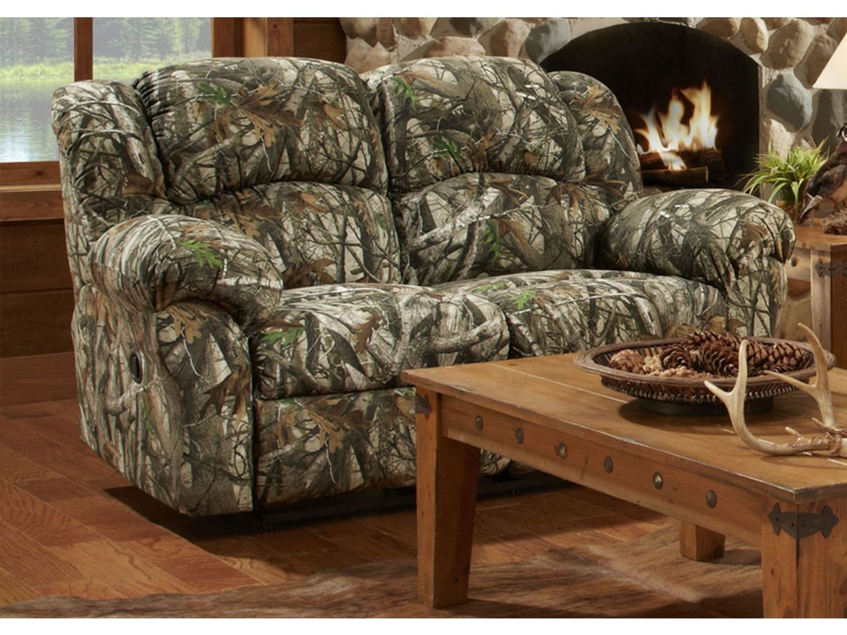 Chelsea Home Bear 2pc Living Room Set In Next Camouflage intended for Camo Living Room Set
