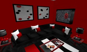 Choosing White And Red Living Room Set Living Room Curtains Design inside Red Black And White Living Room Set