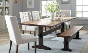 Coaster Scott Living Burnham Dining Room Set In Mahogany Local with 11 Clever Designs of How to Craft Living And Dining Room Sets
