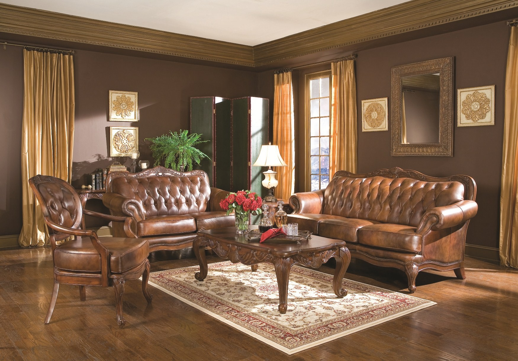 Coaster Victoria Living Room Set 50068 Victoria Collection 5 throughout Cheap Living Room Sets