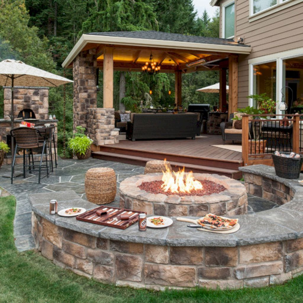 Cool 53 Cozy Backyard Patio Deck Design And Decor Ideas Https intended for 14 Smart Initiatives of How to Makeover Patio Deck Ideas Backyard