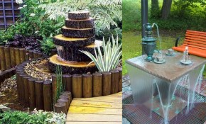 Creative Garden Small Fountain Ideas Outdoor Water Fountain Youtube pertaining to Backyard Water Fountains Ideas