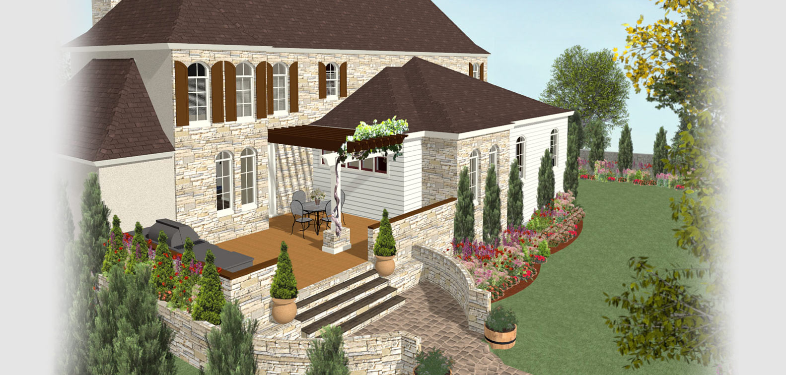 Deck And Landscape Software Home Designer with regard to 11 Smart Initiatives of How to Upgrade Backyard Landscape Design Software