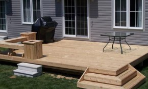 Deck Ideas Be More When Deck Building Simple But Functional with Backyard Building Ideas