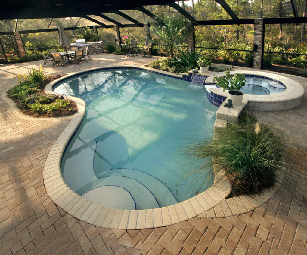 Deck Mesmerizing Pool Deck Ideas Inground Pools Applied To Your in 10 Awesome Tricks of How to Improve Backyard Pool Deck Ideas