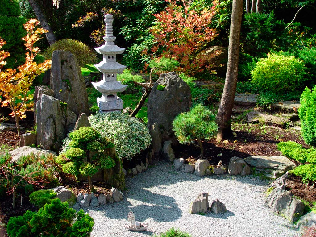 Deluxe Asian Style Backyard Rock Garden Design Ideas With Rocks And within 13 Clever Designs of How to Improve Asian Backyard Ideas