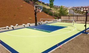 Design Ideas Backyard Basketball Court Allsport America Inc within 12 Smart Designs of How to Improve Backyard Basketball Court Ideas