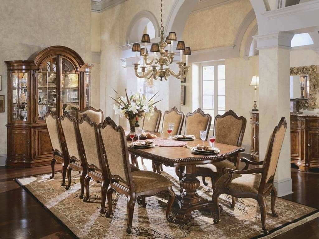 Dining Room Luxury Dining Room Furniture Picture With Traditional with Fancy Living Room Sets