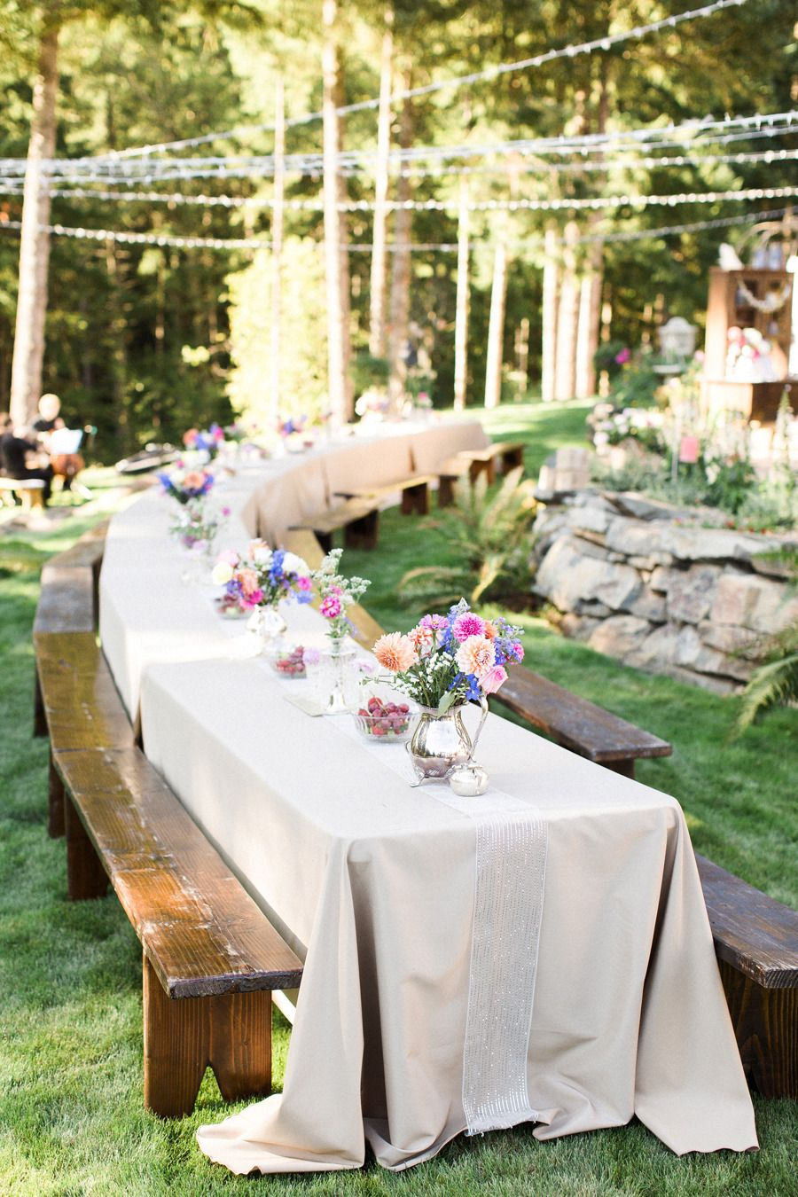 Diy Backyard Oregon Wedding Boho Wedding Backyard Wedding intended for 15 Awesome Tricks of How to Build Cheap Backyard Wedding Reception Ideas
