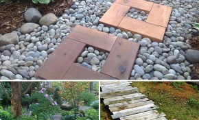 Diy Garden Paths And Backyard Walkway Ideas The Garden Glove pertaining to Backyard Pathway Ideas