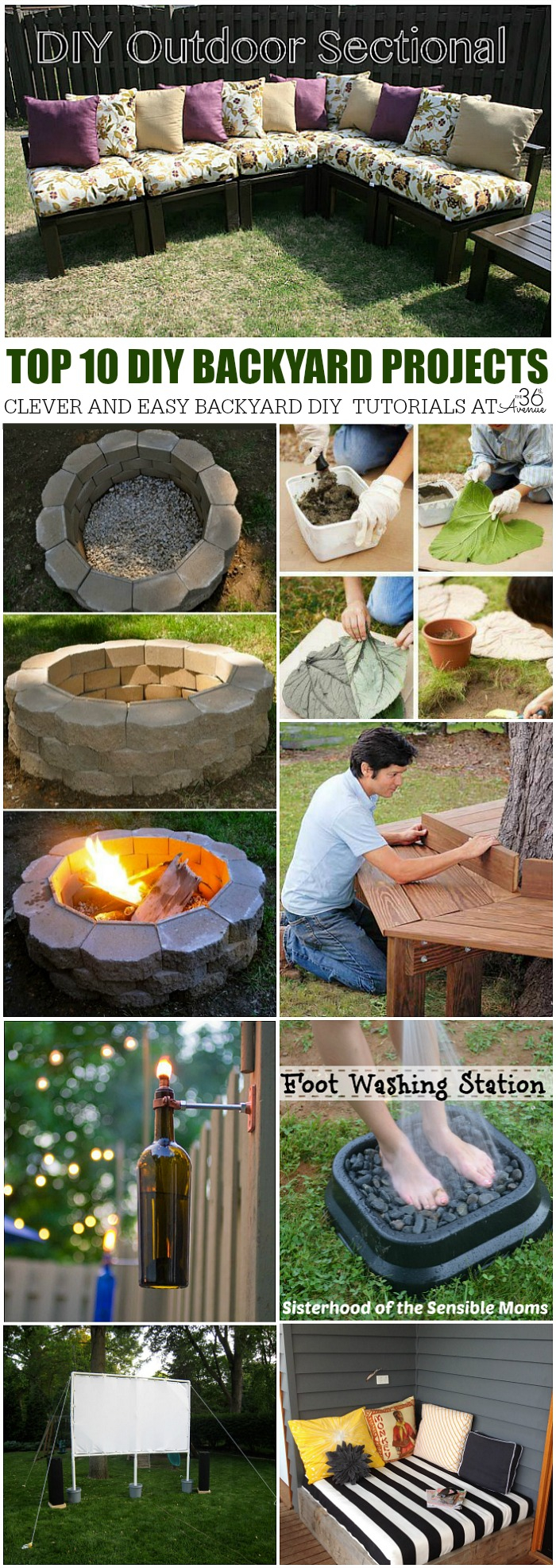 Diy Home Projects Backyard Ideas The 36th Avenue with 14 Genius Initiatives of How to Make Diy Ideas For Backyard