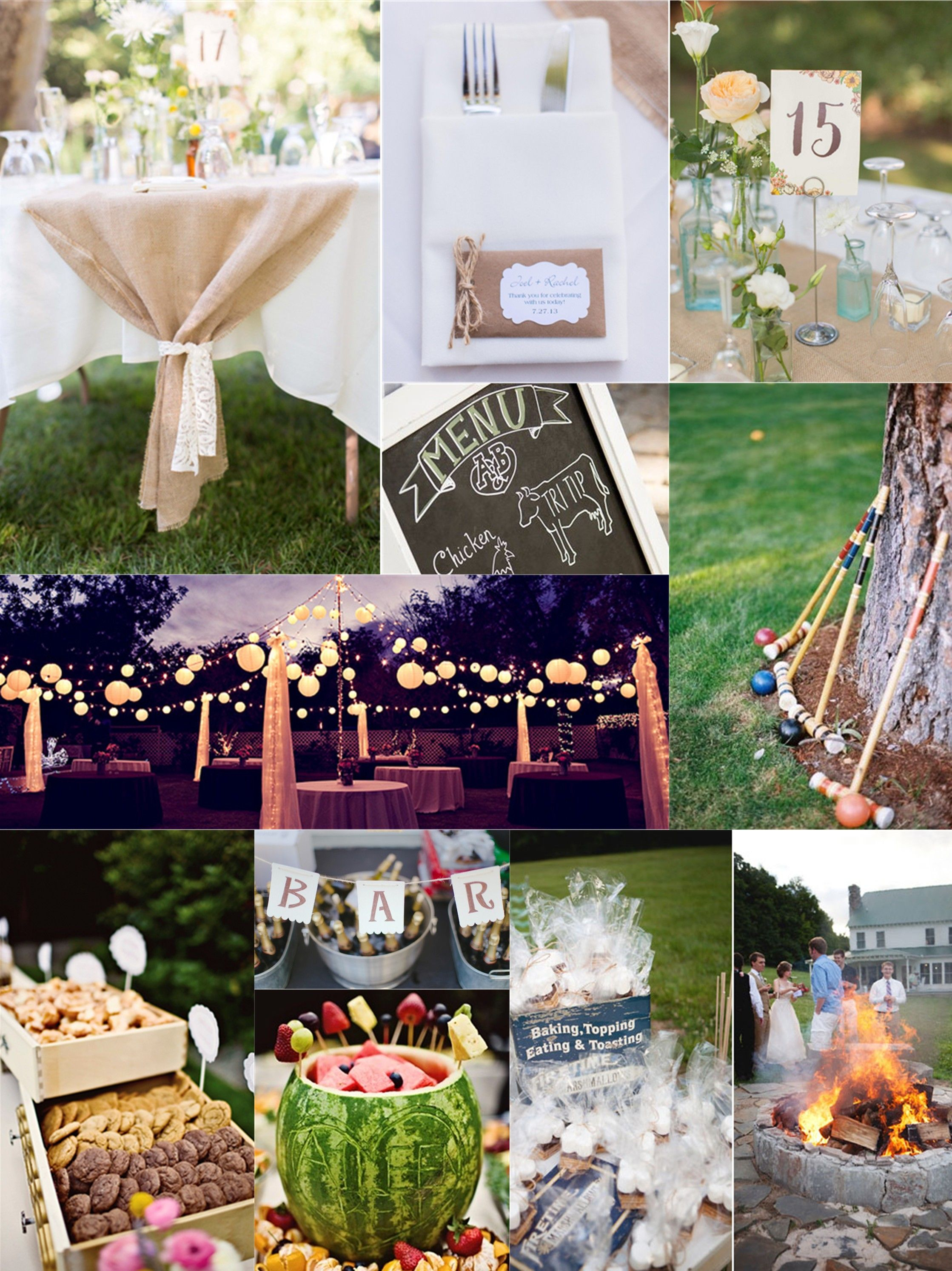 Essential Guide To A Backyard Wedding On A Budget Country Wedding with Backyard Wedding Reception Ideas On A Budget