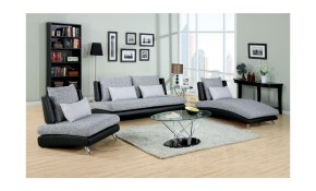 Fabric Sofas Modern Living Room Cm 6111 in Modern Living Room Sets