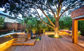 Family Fun Modern Backyard Design For Outdoor Experiences To Come throughout 15 Smart Initiatives of How to Improve Modern Backyard Ideas