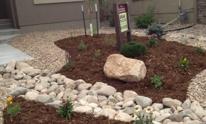 Front Yard Xeriscape Replace Gravel With Grass Just Maybe pertaining to 15 Genius Tricks of How to Make Backyard Xeriscape Ideas