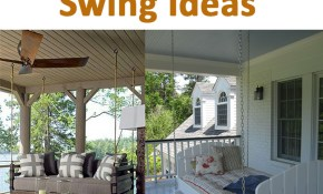 Fun And Creative Outdoor Swing Ideas inside 13 Clever Ideas How to Upgrade Backyard Swing Ideas
