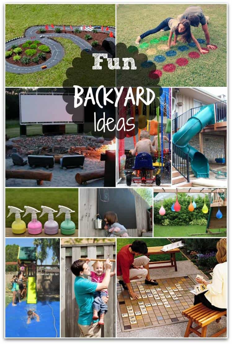 Fun Backyard Ideas These Diy Ideas Will Make Summertime A Blast within 14 Genius Initiatives of How to Make Diy Ideas For Backyard