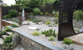 Garden Oriental Landscaping Ideas Asian Themed Garden Japanese Patio in 13 Clever Designs of How to Improve Asian Backyard Ideas