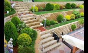 Garden Retaining Wall Ideas 27 Backyard And Terraced Gardens within 12 Some of the Coolest Ideas How to Upgrade Retaining Wall Ideas For Backyard