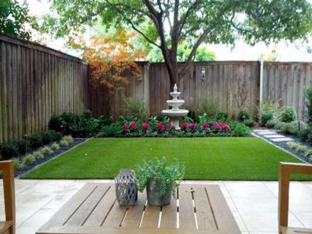 Garden Small Backyard Pictures Small Front Garden Designs Lawn And in 15 Awesome Concepts of How to Make Design Ideas For Small Backyards