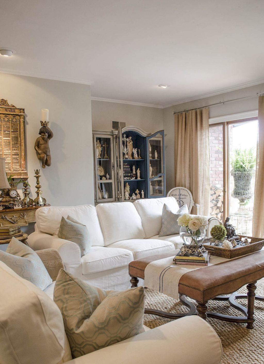 Glass Table Sets For Living Room House French Country Living with regard to French Country Living Room Sets