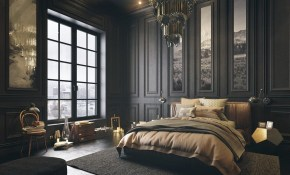 Gorgeous Dark Bedroom Designs With Minimalist And Playful Approach regarding 12 Genius Initiatives of How to Craft Modern Bedroom Black