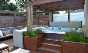 Gorgeous Decks And Patios With Hot Tubs House Ideas Hot Tub with regard to 13 Genius Concepts of How to Craft Backyard Deck Ideas With Hot Tub
