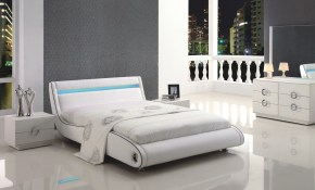 Gorgeous Modern White Bedroom Sets Related To Interior Remodel inside White Modern Bedroom Sets