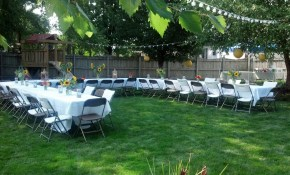 Graduation Party Ideas On A Budget Sarahs Graduation Outdoor inside Graduation Backyard Party Ideas