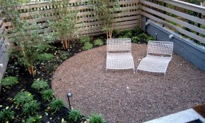 Great Backyard Patio Design Ideas Pictures With White Lounge Chair with regard to Great Backyard Landscaping Ideas