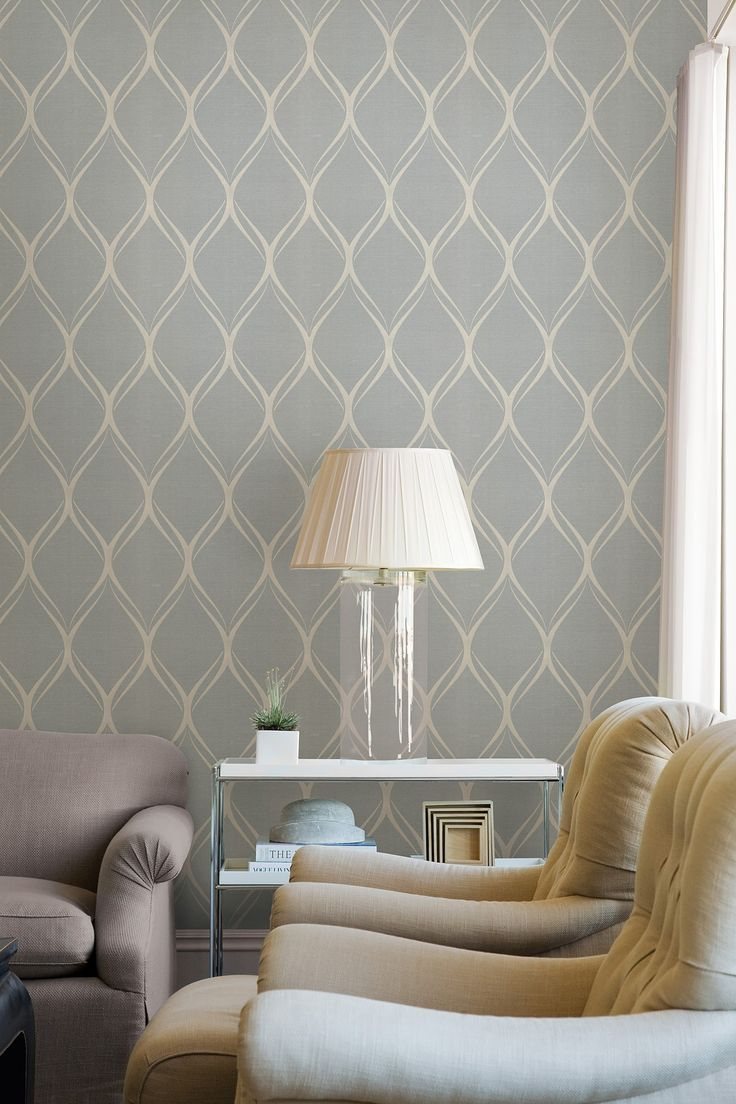 Gustav Grey Geometric Wallpaper Living Rooms Home Wallpaper with regard to 12 Smart Designs of How to Improve Modern Wallpaper For Bedroom