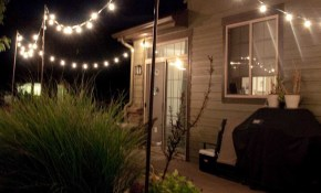 Hanging Backyard String Lights Ideas Also Attractive Outdoor Deck for 11 Genius Tricks of How to Upgrade Backyard String Lights Ideas