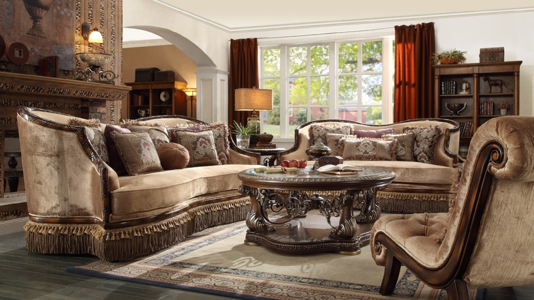 Hd 1631 Homey Design Upholstery Living Room Set Victorian with 15 Awesome Designs of How to Makeover Free Living Room Set