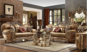 Hd 622 Homey Design Upholstery Living Room Set Victorian European inside 15 Awesome Designs of How to Makeover Free Living Room Set