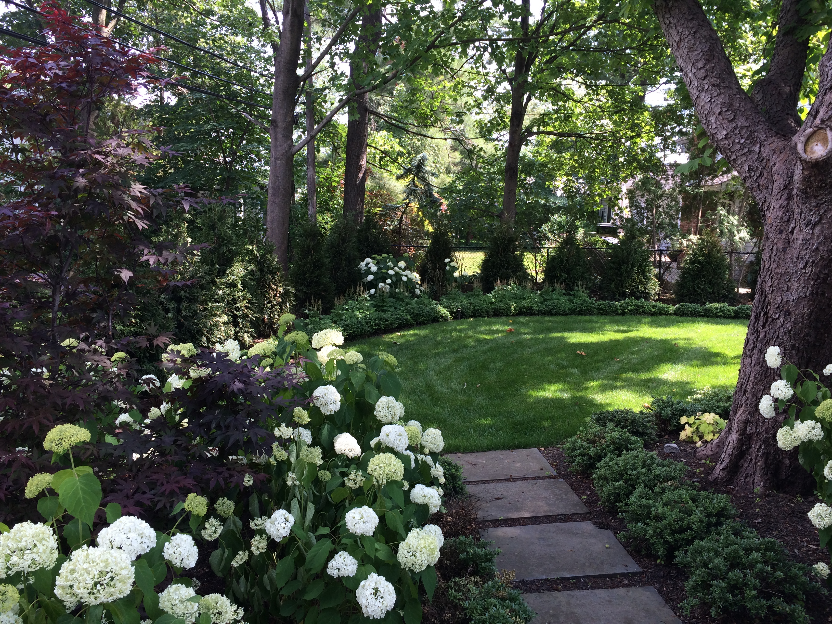 Hicks Nursery Portfolio Landscaping Ideas Gardener Services throughout 14 Clever Tricks of How to Make Shady Backyard Landscaping Ideas