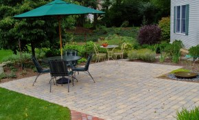 How Much Does A Paver Patio Cost Garden Design Inc throughout 13 Genius Tricks of How to Improve Average Cost Of Backyard Landscaping