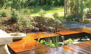 How To Build A Pond Easily Cheaply And Beautifully The Garden Glove with 11 Some of the Coolest Initiatives of How to Upgrade Backyard Small Pond Ideas