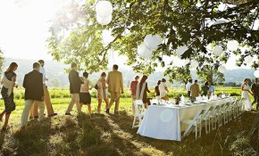 How To Decorate A Wedding On A Budget intended for Backyard Wedding Decoration Ideas On A Budget