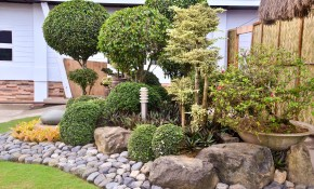 How To Landscape With Rocks 6 Steps With Pictures Wikihow inside Backyard Landscaping With Rocks