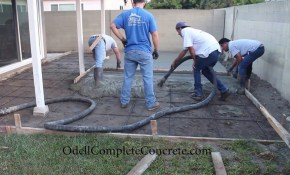 How To Setup A Backyard For A Patio Concrete Pour Start To Finish with 12 Smart Ways How to Upgrade Backyard Cement Patio Ideas