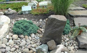 Inspiring Backyard Garden Decorating Design Ideas With Stone for 13 Smart Concepts of How to Craft Backyard Landscaping Ideas With Stones