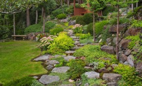 Its A Great Garden If You Like Hiking And Views Or Youre A regarding 13 Smart Concepts of How to Craft Backyard Landscaping Ideas With Stones