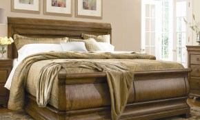 King Louie Ps Sleigh Bed Universal Wolf And Gardiner Wolf intended for Modern Sleigh Bedroom Sets
