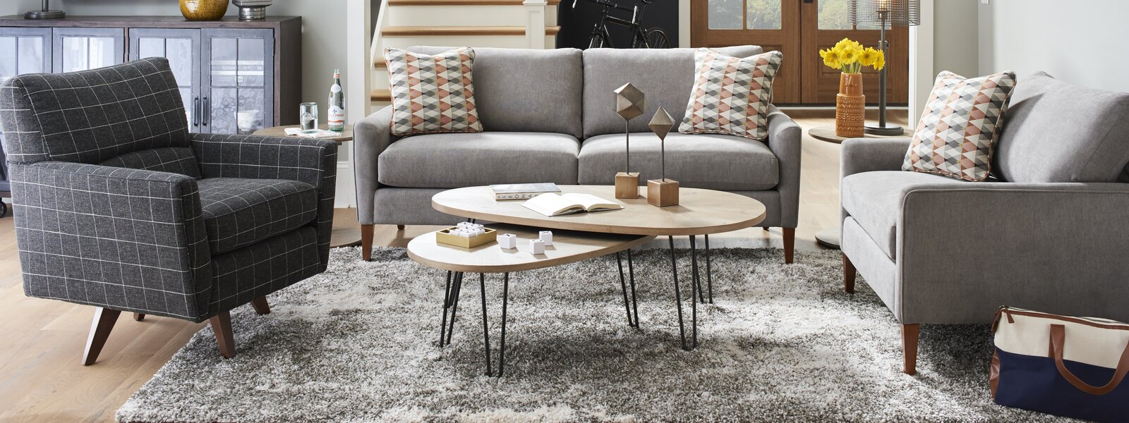 La Z Boy Wayfair for 14 Clever Ideas How to Makeover LaZBoy Living Room Set